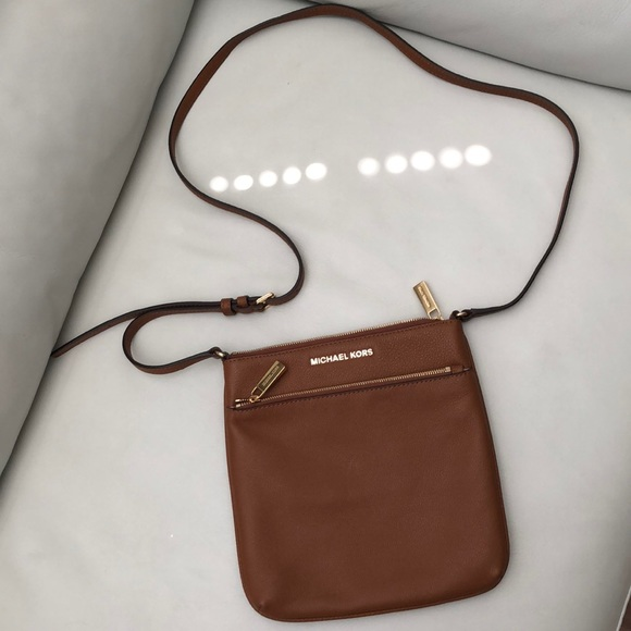 good quality hot-selling discount speical offer Michael Kors Riley Crossbody Brown Purse